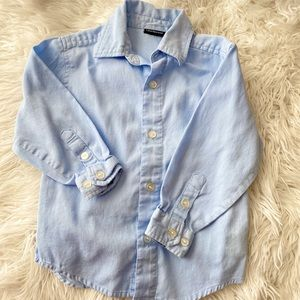 Calvin Klein | Boys Blue Cotton Button Down 2T